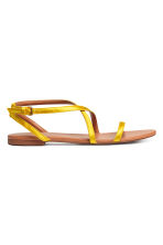 Sandals - Yellow - Ladies | H&M 1