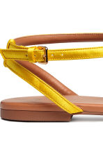 Sandals - Yellow - Ladies | H&M CN 4
