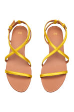 Sandals - Yellow - Ladies | H&M CN 2