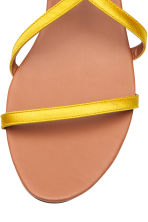 Sandals - Yellow - Ladies | H&M CN 3