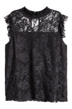 H&M+ Lace top - Black - Ladies | H&M 2