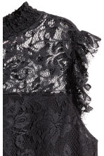 Lace top - Black - Ladies | H&M 3