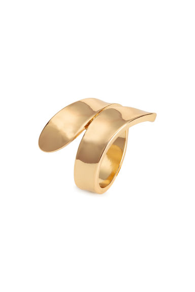 Metal wrapover ring - Gold - Ladies | H&M