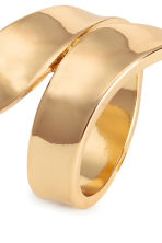 Metal wrapover ring - Gold - Ladies | H&M CN 2