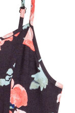Patterned dress - Dark grey/Floral -  | H&M 3