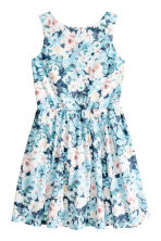 Cotton dress - Blue/Light pink -  | H&M 2