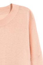 Fine-knit jumper - Powder pink - Ladies | H&M GB 3