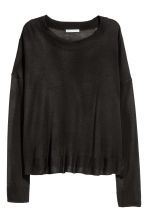 Fine-knit jumper - Dark grey - Ladies | H&M GB 2