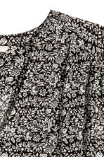 H&M+ Patterned blouse - Black/Floral - Ladies | H&M 3