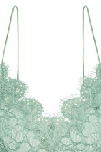 Lace bustier - Mint green - Ladies | H&M 3