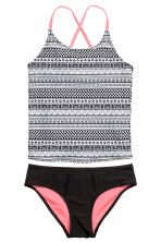 Patterned bikini - Black/White - Kids | H&M 1