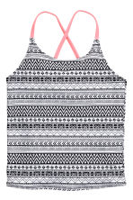 Patterned bikini - Black/White - Kids | H&M 3