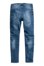 Skinny Tapered Jeans - Dark denim blue -  | H&M 3