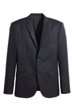 Jacket - Dark blue - Men | H&M CN 2