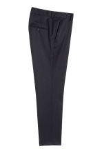 Suit trousers - Dark blue - Men | H&M 3
