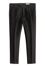 Lyocell-blend suit trousers - Black - Men | H&M CN 2