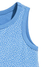 Jersey romper suit - Blue/Spotted - Kids | H&M CA 2