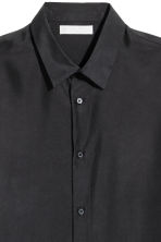 Silk shirt - Black - Men | H&M 3