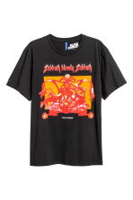 Printed T-shirt - Black/Black Sabbath - Men | H&M 2