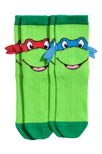 2-pack socks - Green/Turtles -  | H&M 2