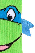 2-pack socks - Green/Turtles -  | H&M 3