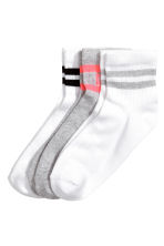 3-pack socks - White - Kids | H&M CA 1