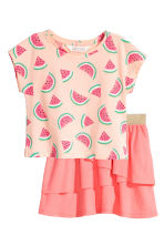 Top and skirt - Powder/Watermelon - Kids | H&M 2