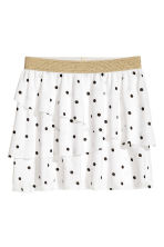 Top and skirt - White/Cat - Kids | H&M CN 3