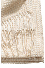 Glittery blanket - White/Gold - Home All | H&M CN 2