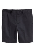 Knee-length shorts Slim fit - Dark blue - Men | H&M 2