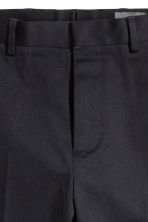 Knee-length shorts Slim fit - Dark blue - Men | H&M 4