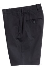 Knee-length shorts Slim fit - Dark blue - Men | H&M 3