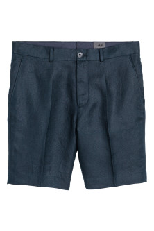 Shorts eleganti in lino