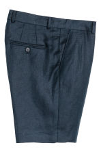 Linen city shorts - Dark blue - Men | H&M 3