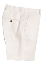 Linen city shorts - Light beige - Men | H&M 3