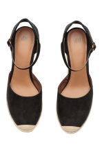 Wedge-heel shoes - Black - Ladies | H&M 2