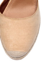 Wedge-heel shoes - Light beige - Ladies | H&M IE 3