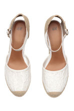 Wedge-heel shoes - White - Ladies | H&M CN 2
