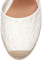 Wedge-heel shoes - White - Ladies | H&M CN 3