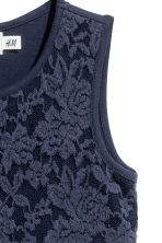 Jersey dress - Dark blue - Kids | H&M CN 3