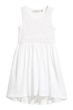Jersey dress - White - Kids | H&M CN 2
