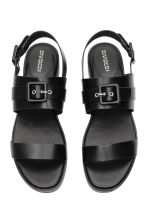 Platform sandals - Black - Ladies | H&M 2