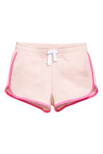 Sweatshirt shorts - Light pink - Kids | H&M CN 2
