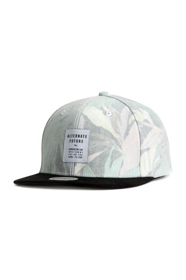 Patterned cotton cap - Black/Patterned - Ladies | H&M 1
