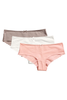 3-pack hipster briefs