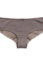 3-pack hipster briefs - Burgundy - Ladies | H&M IE 4