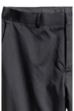 Suit trousers Skinny fit - Black - Men | H&M 4