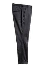 Suit trousers Skinny fit - Black - Men | H&M 3