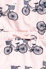 Jersey playsuit - Light pink/Bikes - Kids | H&M 3