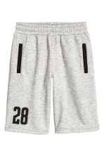 Sports shorts - Grey marl - Kids | H&M 1